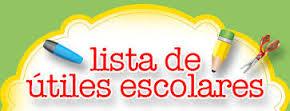Lista Útiles Colegio Monteverde 2015